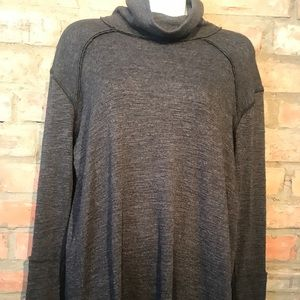 Free people grey sweater - size small
